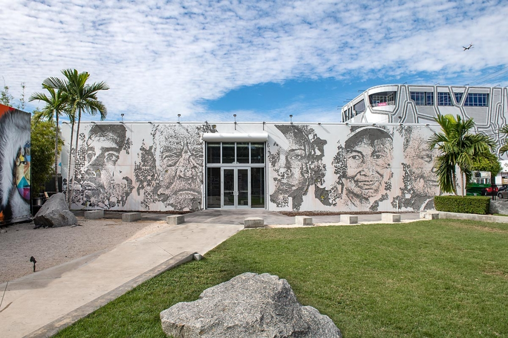 Vhils à Wynwood Walls