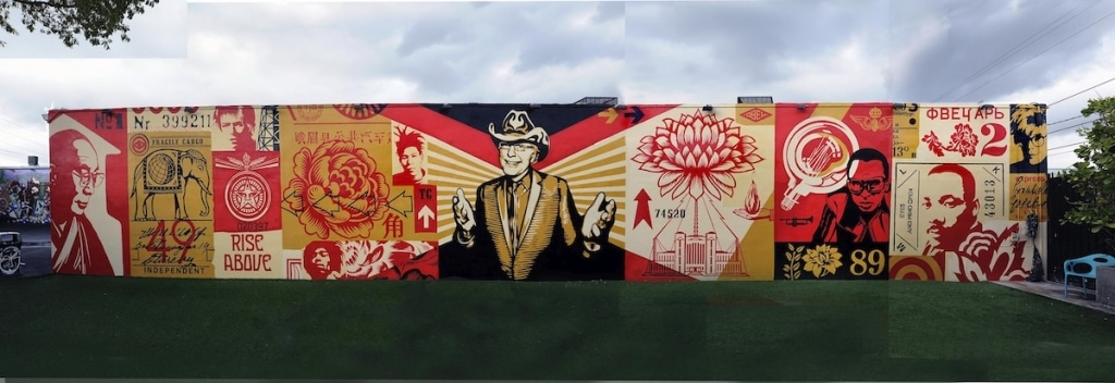 Shepard Fairey à Wynwood Walls