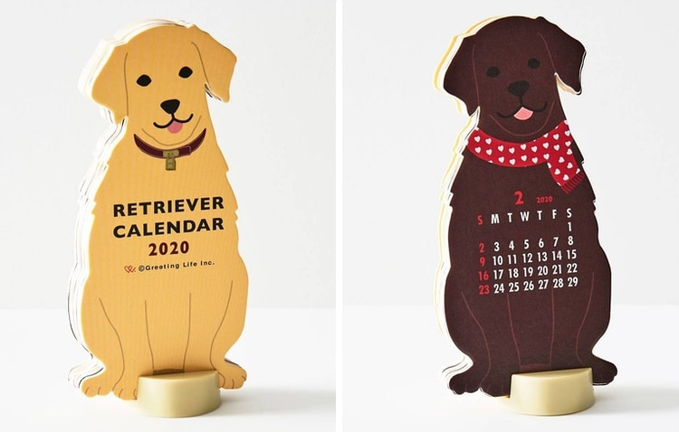 Calendrier Golden Retriever 2020