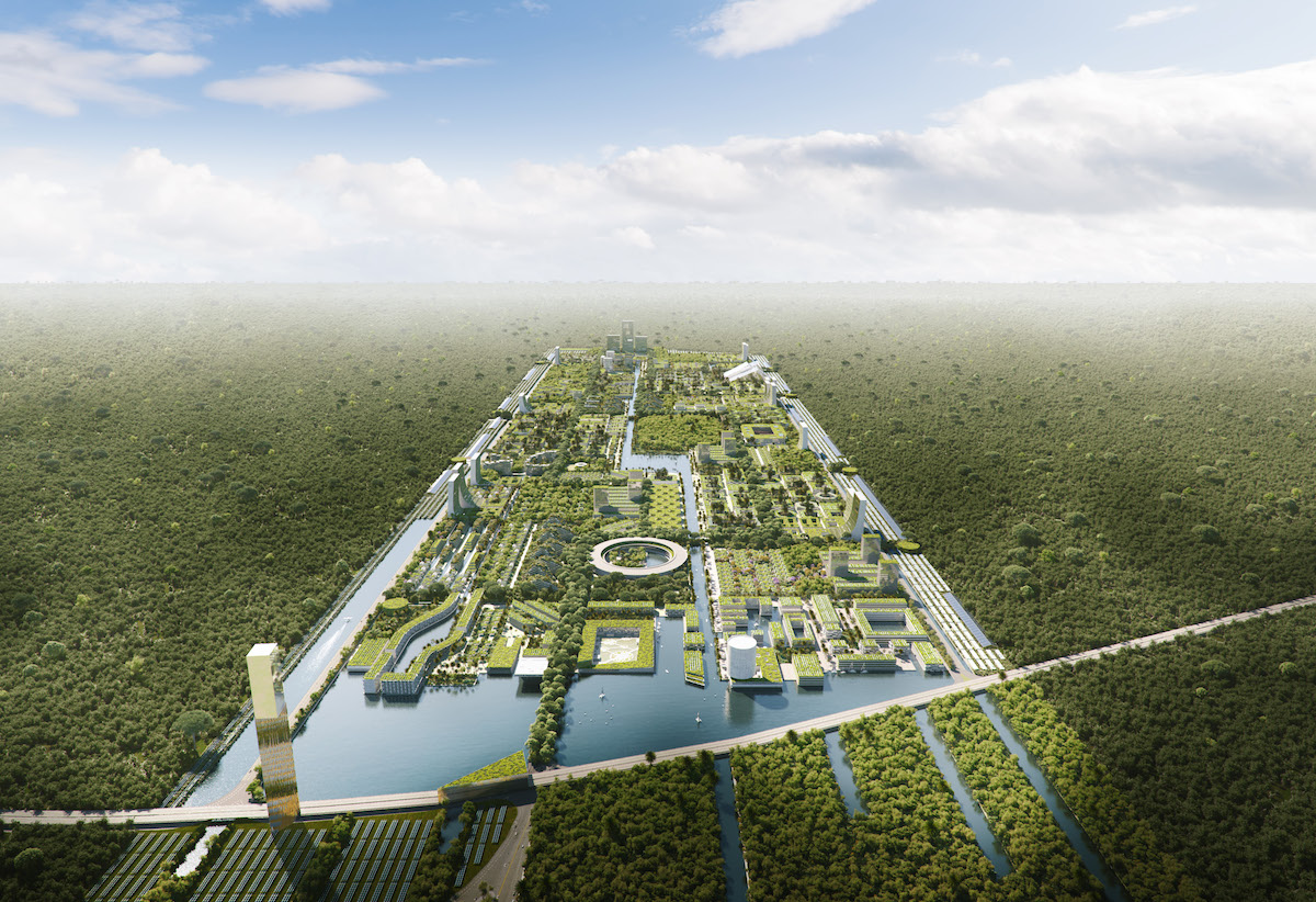 Smart Forest City Cancun par Stefano Boeri