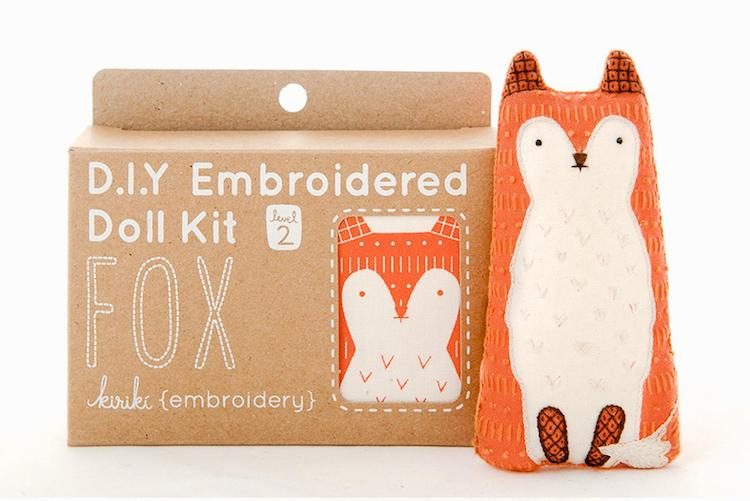 Kits de broderie Kiriki Press