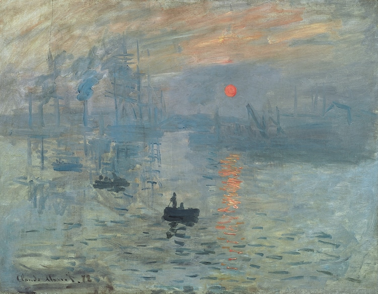 Monet Impression Sunrise