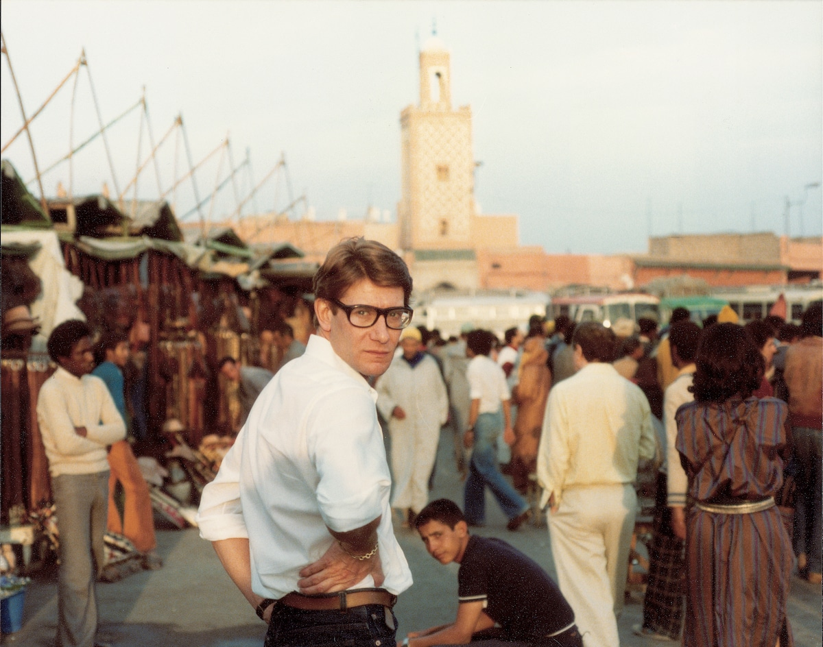 Yves Saint Laurent à Marrakech