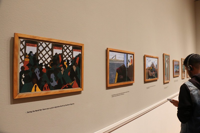 Migration Series-Jacob Lawrence au MOMA.