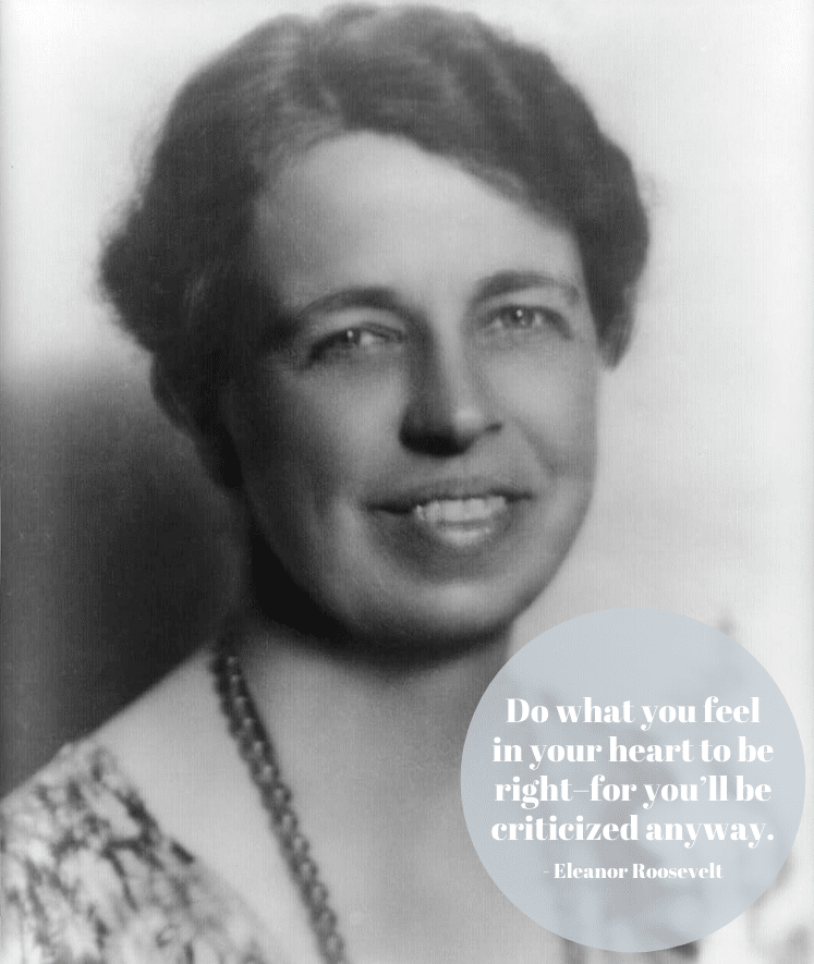 Citation d'Eleanor Roosevelt