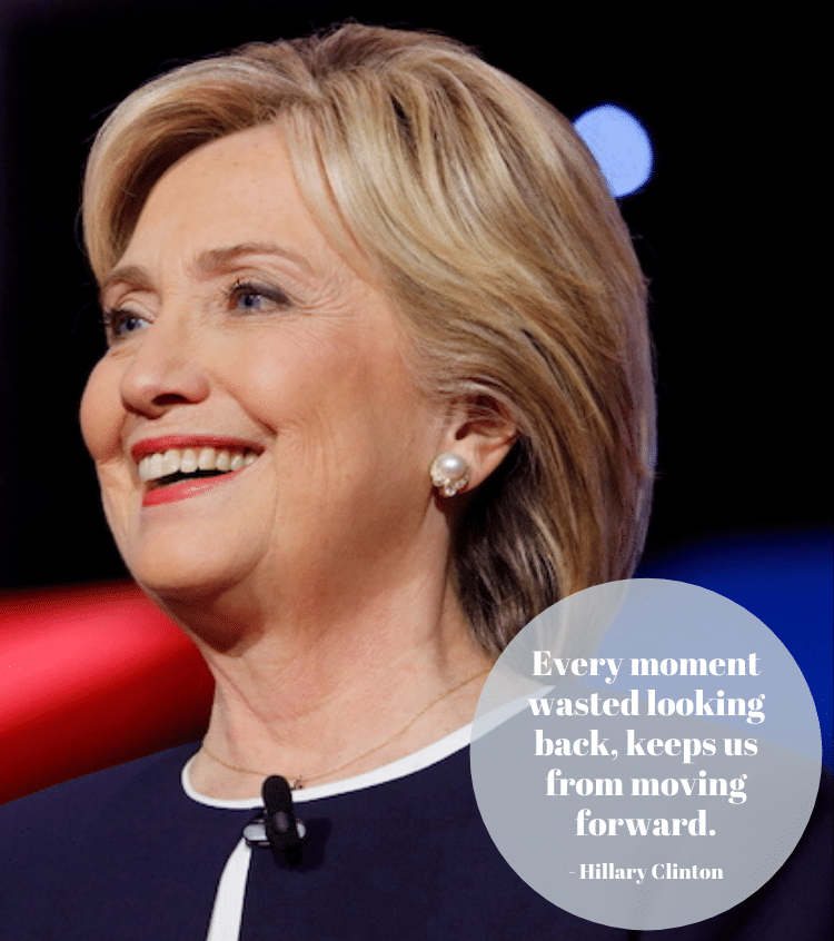 Citation inspirante de Hillary Clinton