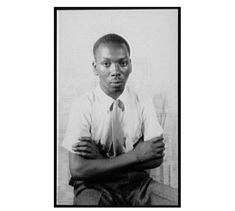 Portrait de Jacob Lawrence