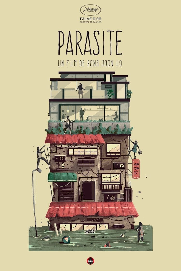 Affiche de film alternatif parasite
