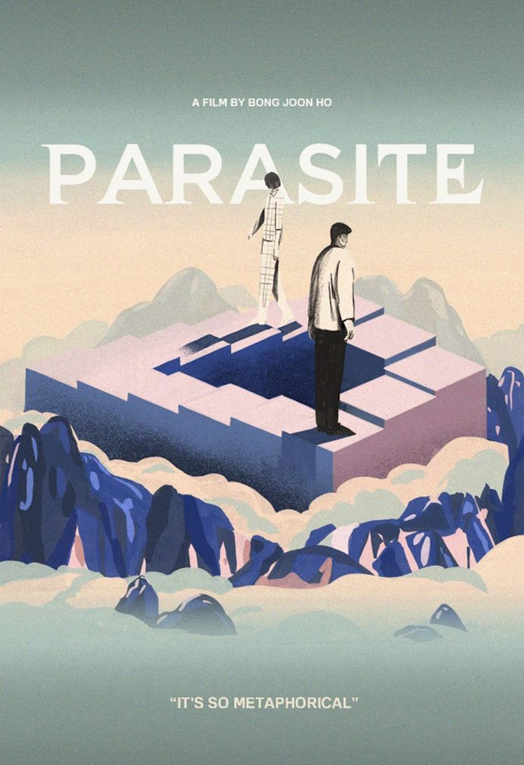 Affiche de film alternative pour parasite