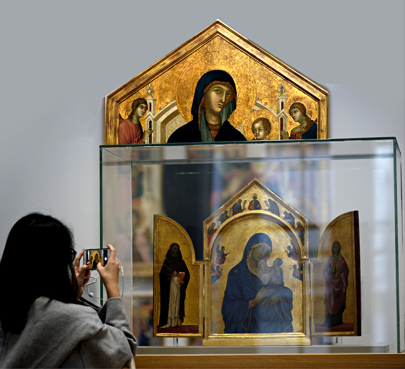 Duccio à la National Gallery, Londres