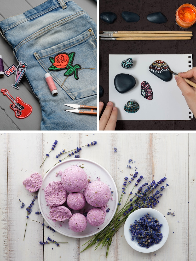 Projets artistiques relaxants