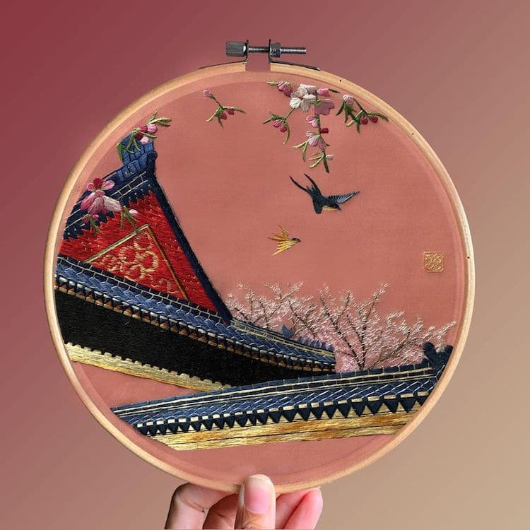 Broderie chinoise par Yingifts