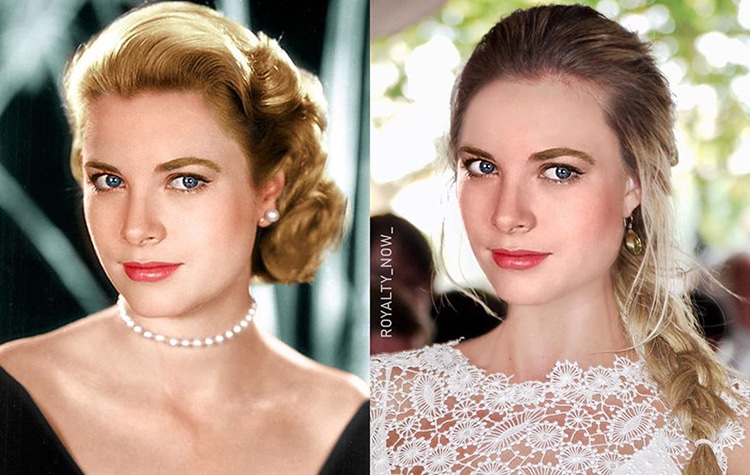 Grace Kelly repensée comme une figure moderne par Royalty Now
