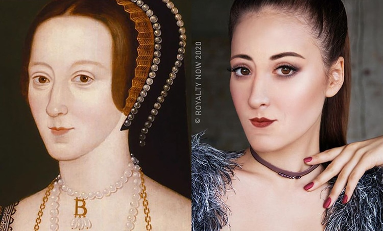 Anne Boleyn repensée en tant que figure moderne par Royalty Now