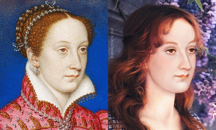Mary Queen of Scots repensé comme une figure moderne par Royalty Now