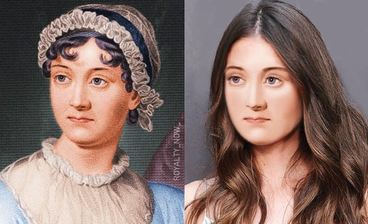 Jane Austen repensée comme une figure moderne par Royalty Now
