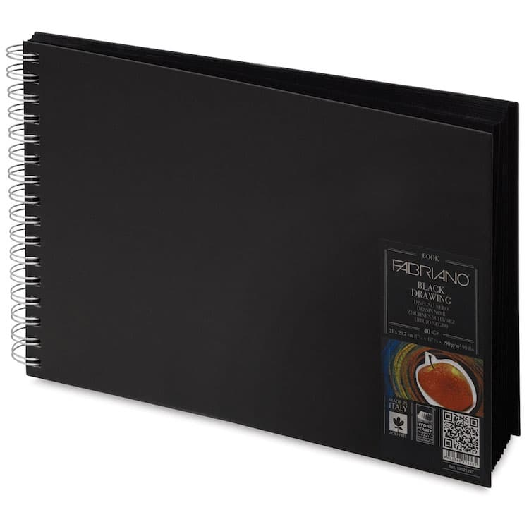 Fabriano Black Sketchbook