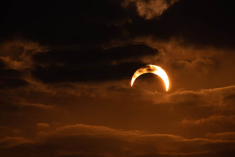 Eclipse solaire annulaire 2019