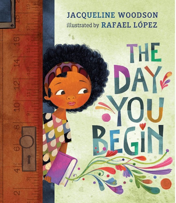 The Day You Begin écrit par Jacqueline Woodson illustré par Rafael López