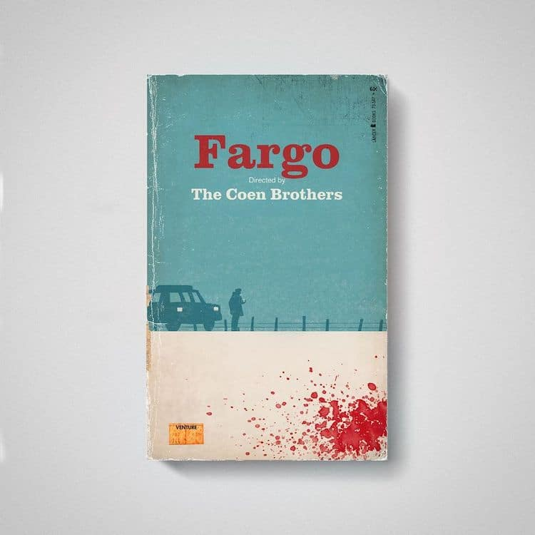 Fargo comme Old Book par Matt Stevens
