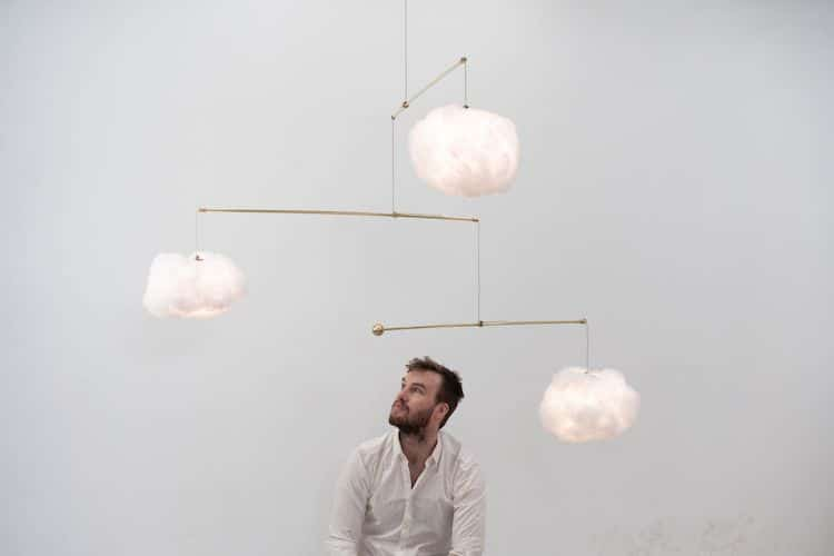 Lampe Mobile Cloud par Richard Clarkson Studio
