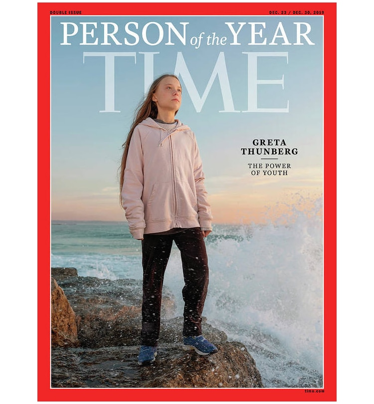 Greta Thunberg Time Person of the Year Cover