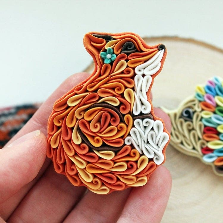 Broche Pin Fox sur Etsy